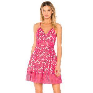 """NEW Lovers + Friends """"Bellini"""" Lace Midi Dress"""